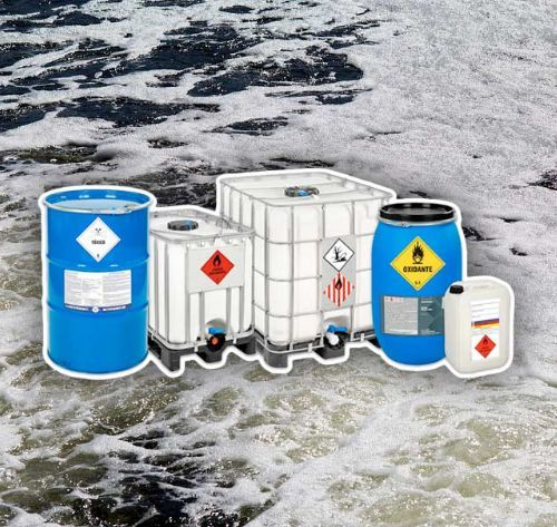 Insumos para tratamento de agua