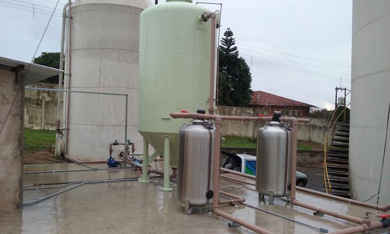 Retrofit em estação de tratamento de água