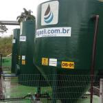 Empresas de tratamento de agua e efluentes
