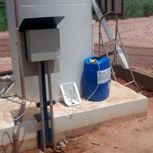 Sistema de cloração para poço