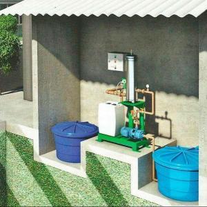 Sistema de reuso de agua residencial